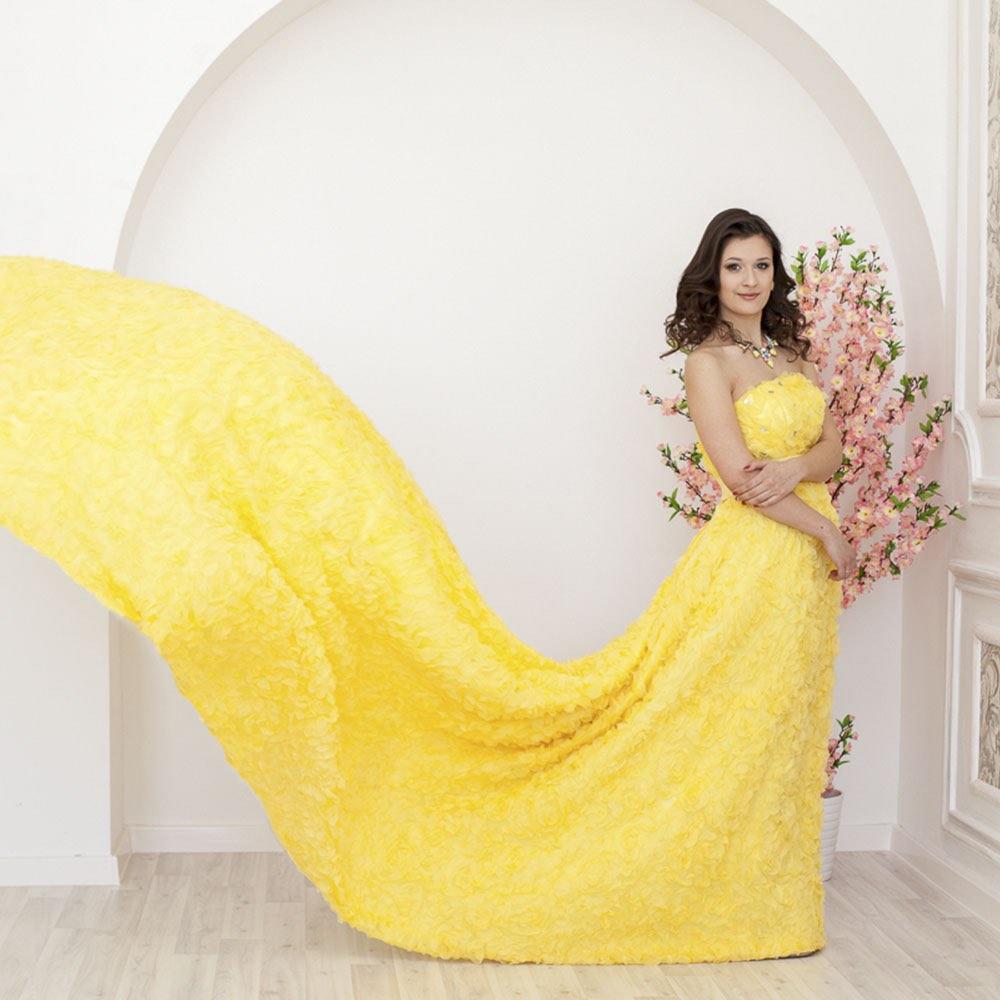Фотопроект в шикарных платьях