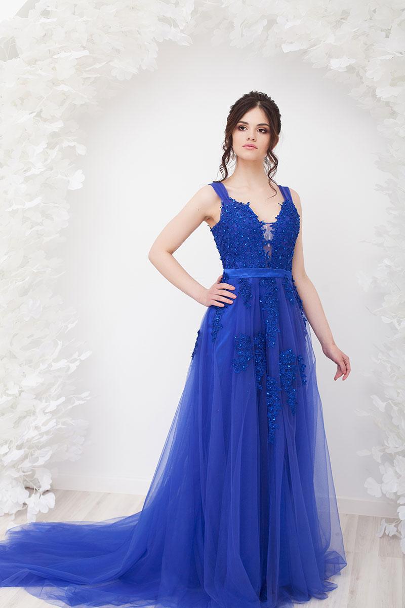 Платье Синее в прокат