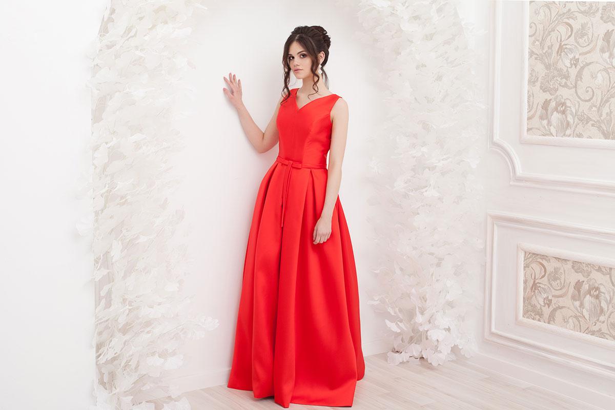 Прокат платья Красное королевское