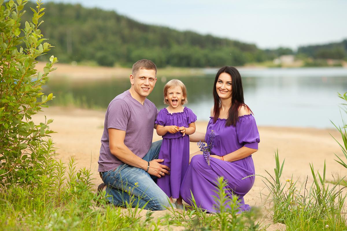 Прокат Фиолетовый комплект