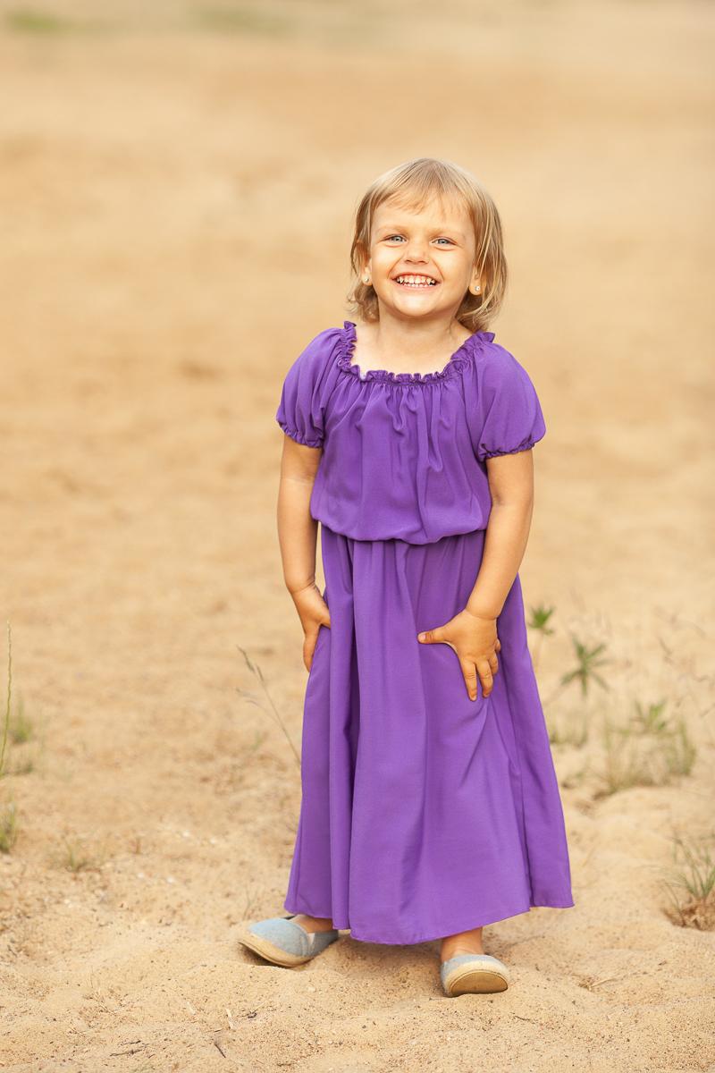 Фиолетовый комплект в прокат