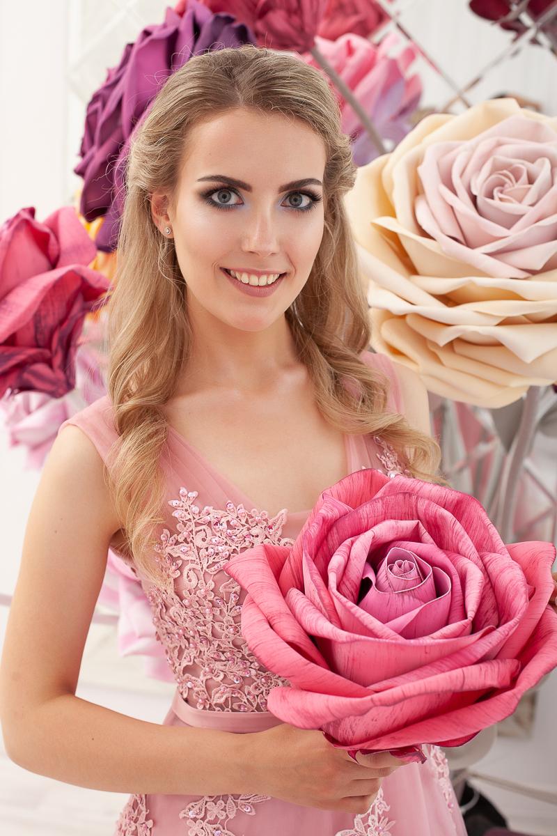 Прокат Платье Чайная роза