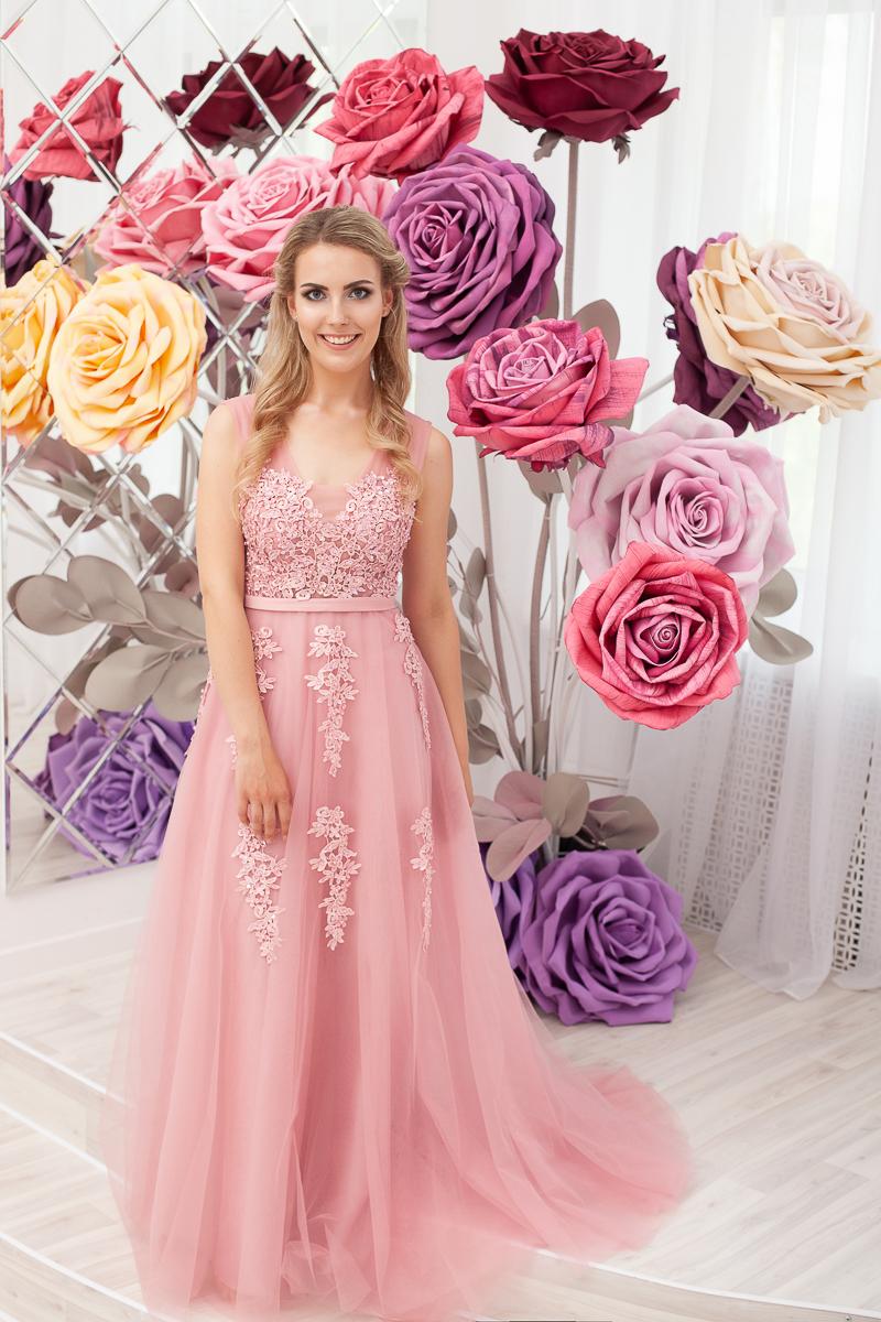 Платье Чайная роза в прокат