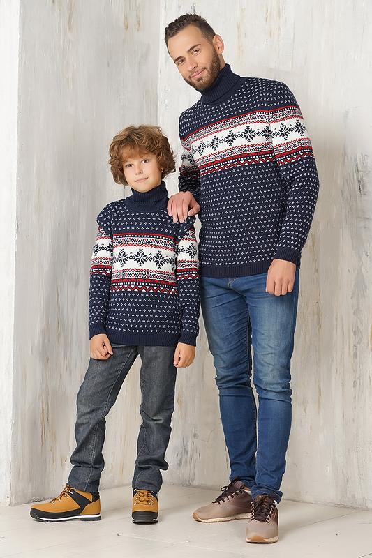 Family Look свитера с орнаментом 1