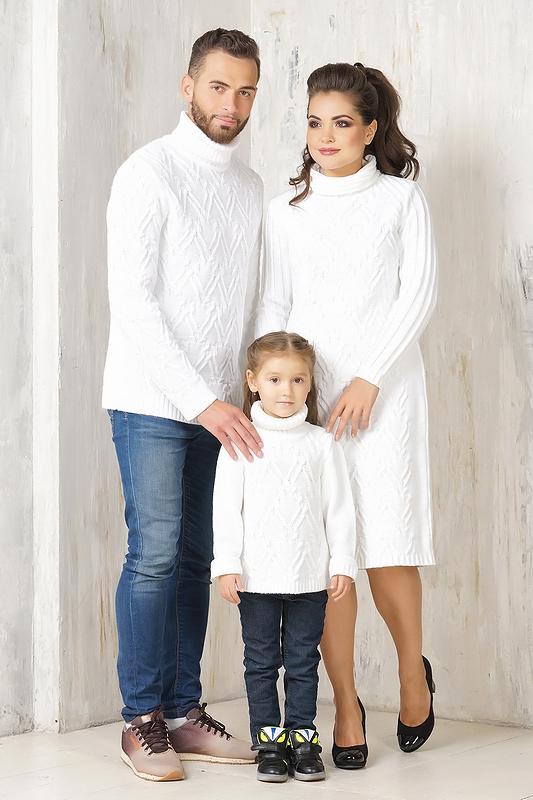 прокат Family Look Белоснежный