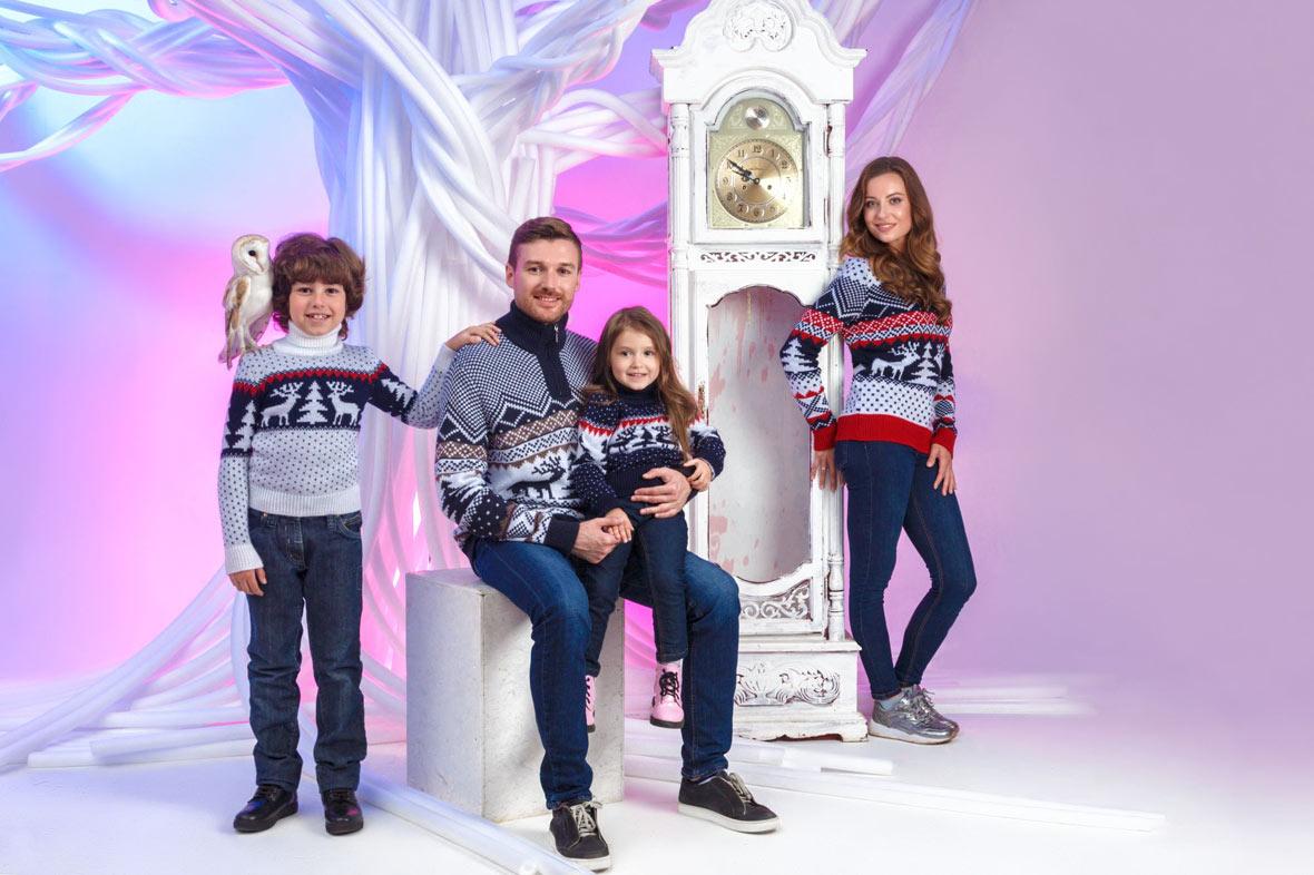 прокат Family Look свитера с орнаментом 2