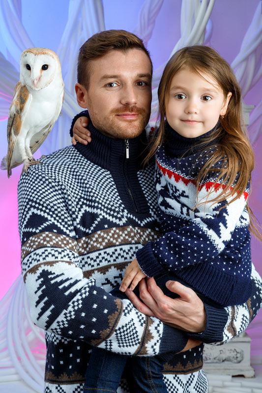 Family Look свитера с орнаментом 2