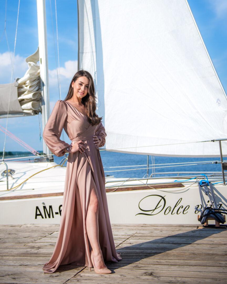 Платье Капучино в прокат